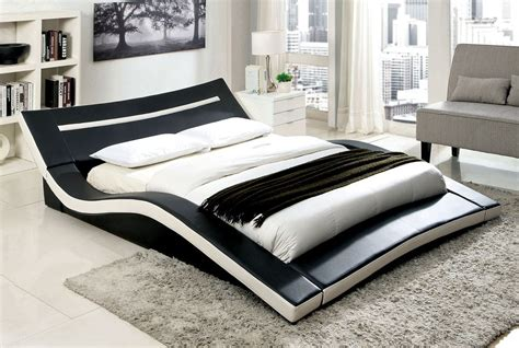 carvel modern low profile platform bed