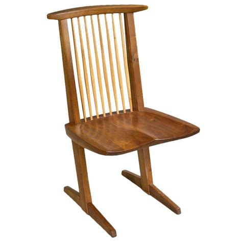 George Nakashima Chair by Conoid Chairs By George Nakashima At 1stdibs