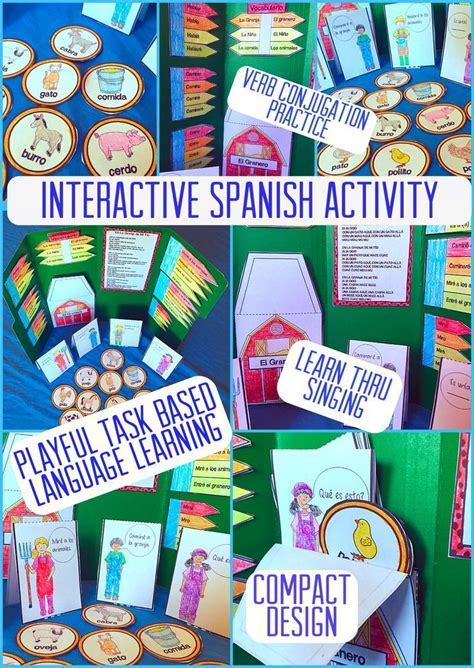 1000 Ideas About Spanish Interactive Notebook On