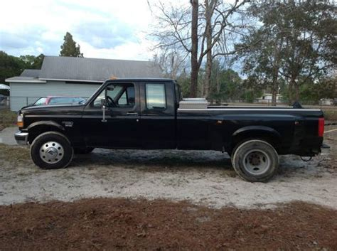 ford f 350 diesel dually find used 1997 ford f 350 7 3l diesel dually in homosassa