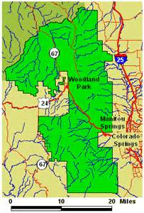 maps us map pikes peak