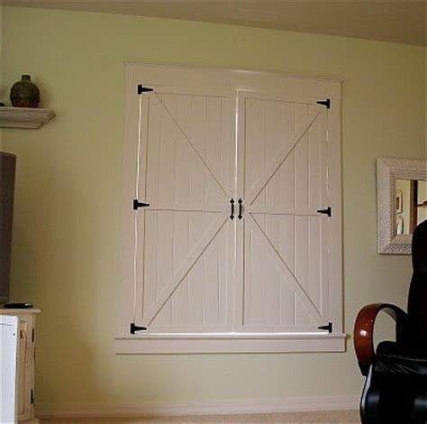 Barn Door Wainscoting Tutorial Remodelaholic Barn Door Window Shutters