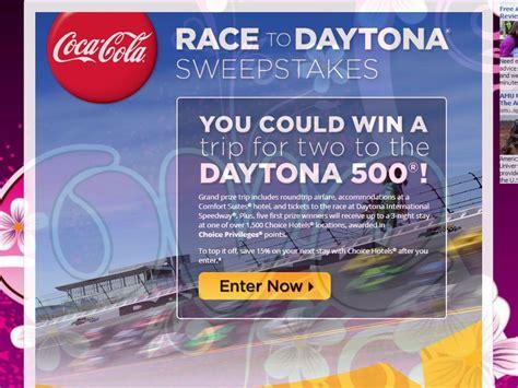 Coke Sweepstakes - coca cola race to daytona sweepstakes sweepstakes fanatics