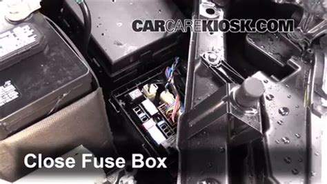 replace a fuse 2014 2016 nissan rogue 2014 nissan rogue