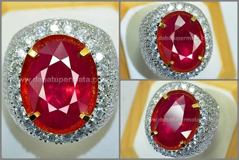Batu Permata Ruby Pear Cut Big Size pin by batu permata on ruby gemstone batu ruby