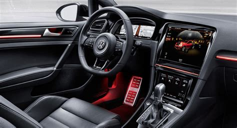 volkswagen golf gti  interior vw specs news