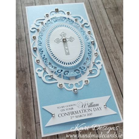 Handmade Communion Cards - holy communion confirmation card