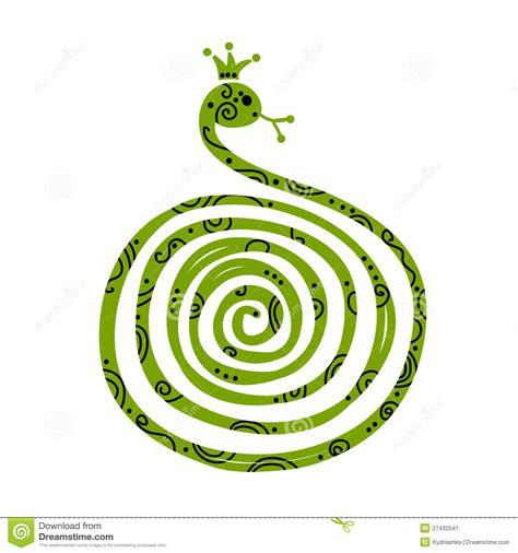 new year symbols snake snake symbol of new year 2013 stock image image 27432541