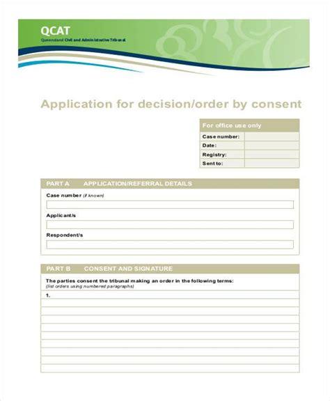 consent order form doc consent order form doc728943 consent order form