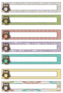 9 best images of free printable file labels free