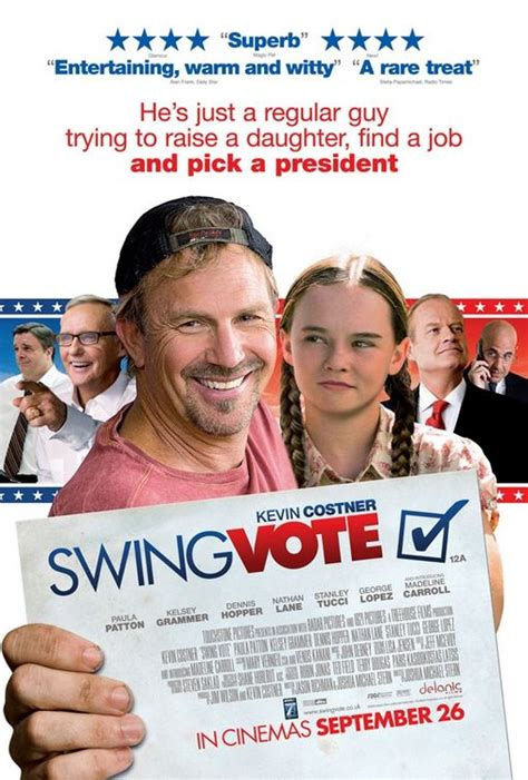 swing vote 2008 swing vote movie poster 2 of 3 imp awards