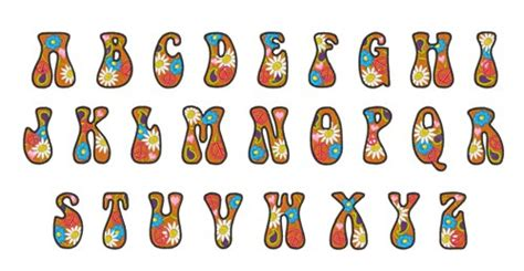 printable groovy letters home format fonts embroidery font groovy alphabet from