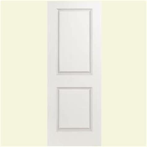 Sound Dening Interior Doors by Masonite 30 In X 80 In Solidoor Smooth 2 Panel Solid