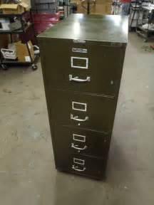 Masters Filing Cabinet Vintage Victor Master 4 Drawer File Cabinet Certified 1 Hour Fireproof Safe Ebay