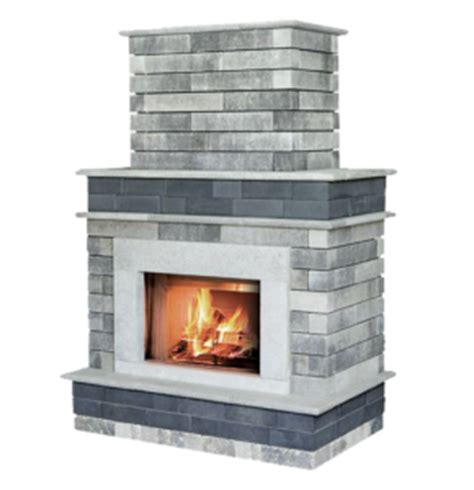 Pre Made Outdoor Fireplace by Fireplaces Firepits Peoria Brick Company Central