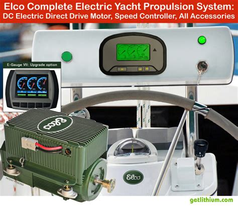 elco marine electric motors elco motor yachts complete inboard or outboard electric