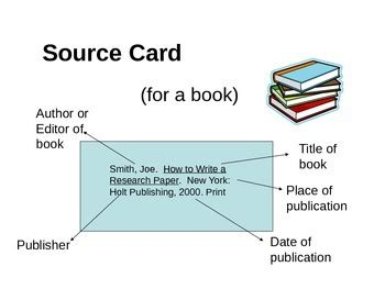 how to do source cards for a research paper mla format research paper by acmorales teachers pay