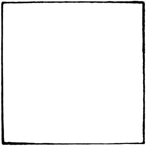 Black Outline Square by Square Clip Shape Clipart Panda Free Clipart Images