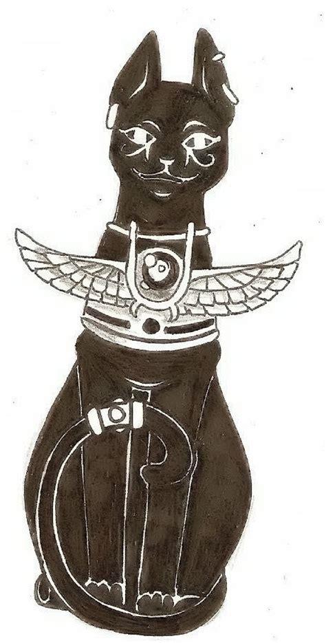 bastet tattoo design by desertfrost on deviantart