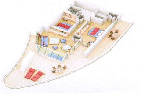 Allure Of The Seas Floor Plan by Aquatheater Suite Oasis Allure And Harmony Of The Seas