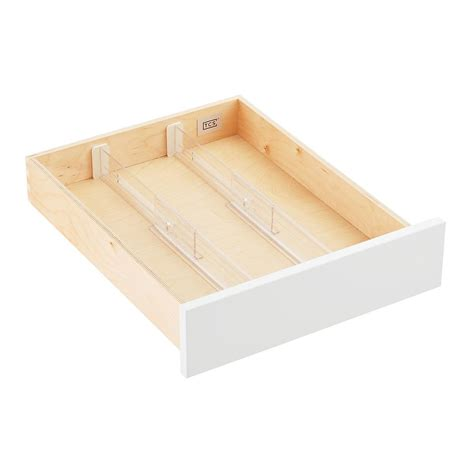 2 3 8 quot expandable drawer dividers the container store