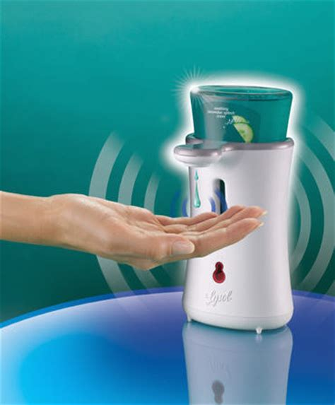 lysol launches no touch soap system