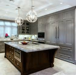 kitchens with different colored islands different colored kitchen cabinets trend home design and