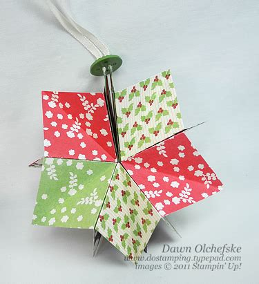 Folded Paper Ornaments - folded paper ornaments craftbnb