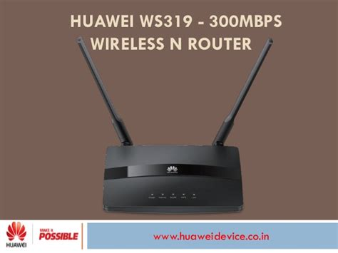 Huawei Hg231f Wireless N Router huawei ws319 300m wireless n router