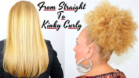 straight perms for white people how to make straight hair beautiful tight kinky curly