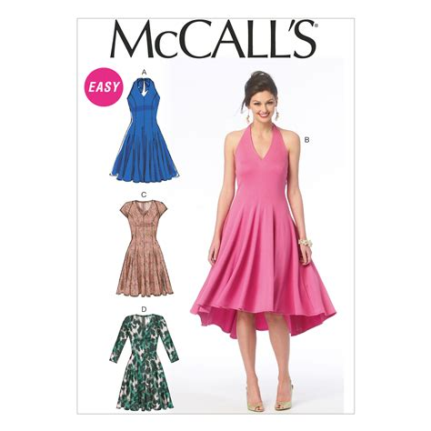 dress pattern joann fabrics misses dresses 6 8 10 12 14 joann