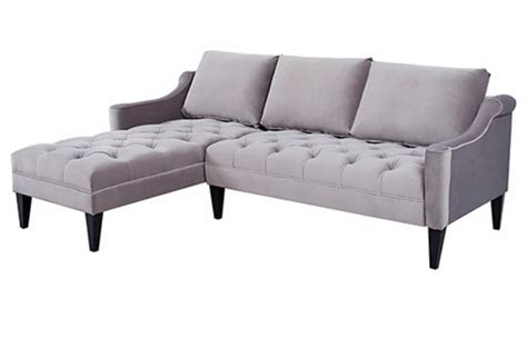 grey fabric chesterfield corner sofa fabric wooden chesterfield corner sofa grey
