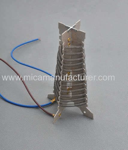 Hair Dryer Heat Element mica heating element with resistant wire for hair dryer from china manufacturer jiaxing dj