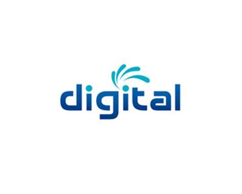 Logo Design Digital | logo design entry number 147 by aqif digital logo contest