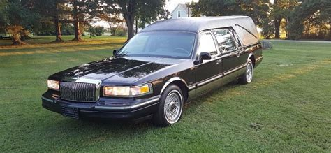 1997 lincoln town car sale 1997 lincoln town car hearse eagle funeral coach for sale
