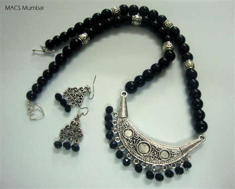 Handmade Necklace Designs - tickled by inspirations macs mumbai handmade jewelry