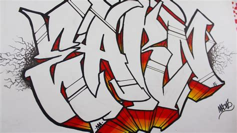 imagenes de grafitis impresionantes como hacer letras en graffiti tutorial youtube