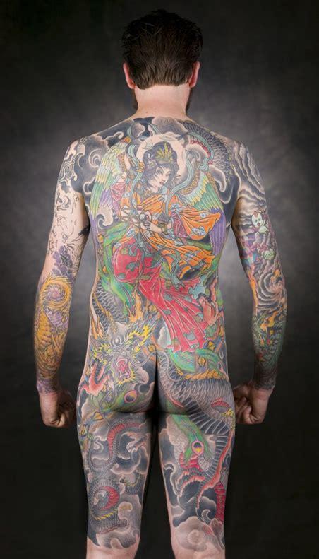 japanese full body tattoo art sean jpg
