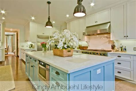 see thru kitchen blue island white kitchen inspiration via ambuehl home stories