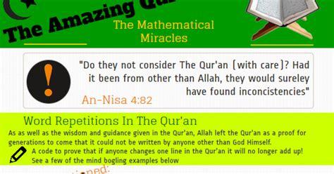 Terlaris Amazing Menakjubkan Tentang Keajaiban Bumi keajaiban al qur an dari segi matematik dakwah syariah