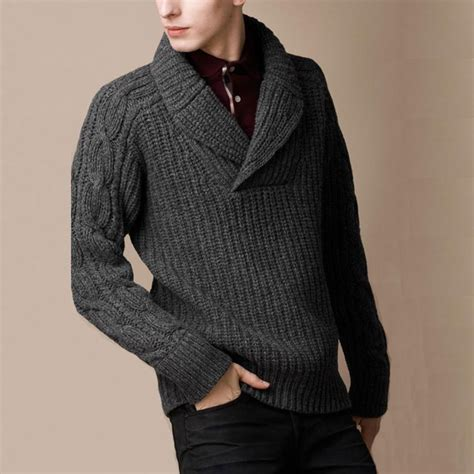 Knitting Pattern Sweater With Collar | 57 best knitting for him images on pinterest knits