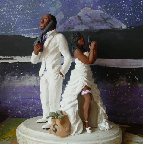 Unique Wedding Cake Toppers by Photos Of Black Wedding Cake Toppers Ipunya