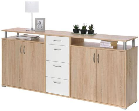 sideboard maximo sonoma eicheweiss sideboards  poco
