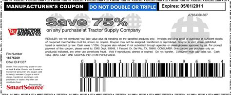 tractor supply coupons 2014 printable coupons download 5 off home depot coupons promo codes 2015