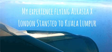 air asia x can the low cost model go long haul flying airasia x london stansted to kuala lumpur