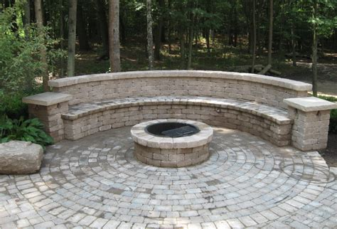 built in outdoor pit pits are and reder landscaping
