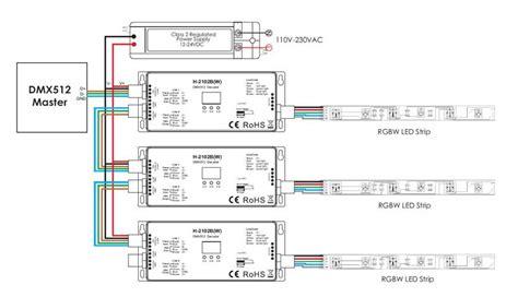 rgb dmx decoder wiring diagram dmx wiring wiring