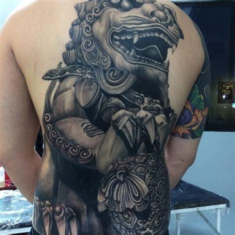 fu dog tattoo design 40 foo designs for you