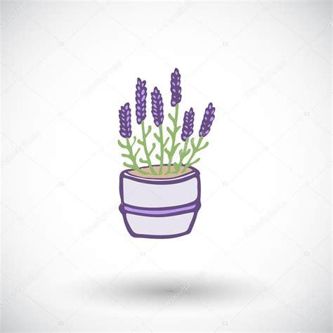 imagenes de flores dibujadas a mano bosquejo de maceta lavanda icono de flores dibujadas a