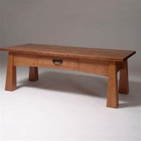 Craftsman Coffee Table Custom Craftsman Style Coffee Table By Jg Custom Furniture Custommade